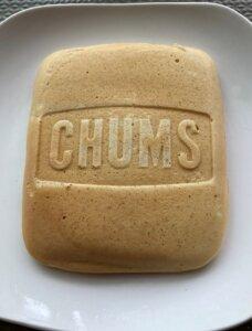 CHUMSのホットサンドウィッチクッカーで焼いたパンケーキ